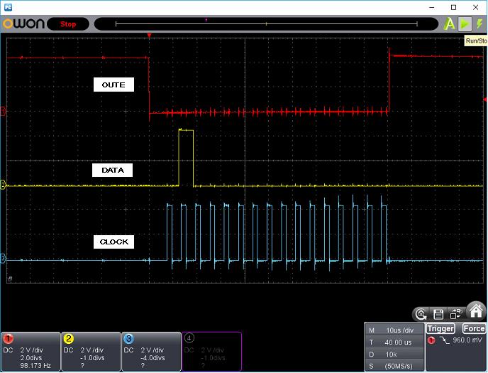 タッチレジスター(センサーマイコン換装)ホストI/F波形2