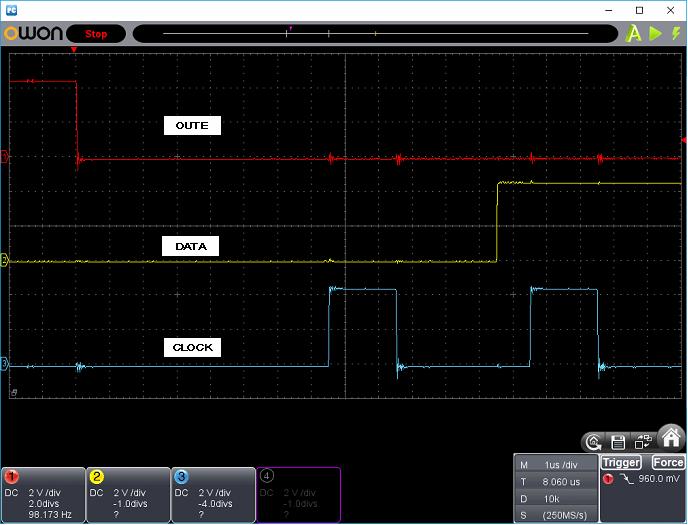 タッチレジスター(センサーマイコン換装)ホストI/F波形3