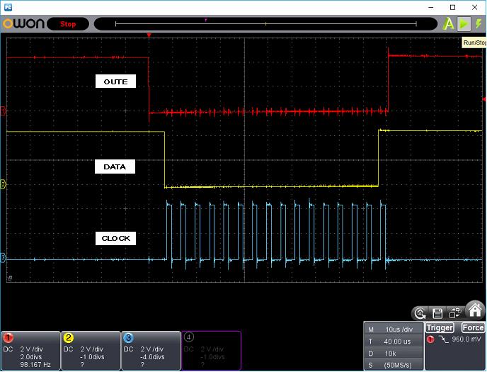 タッチレジスター(センサーマイコン換装)ホストI/F波形4