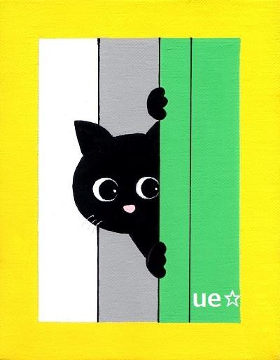 黒猫グリーンfc2