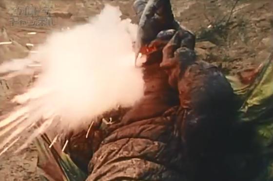 レッドマン キングマイマイ光弾発射