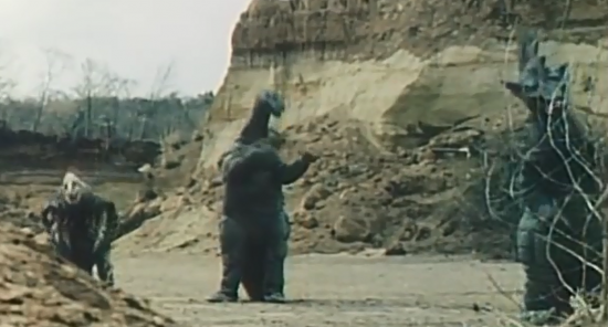 レッドマン 三大怪獣
