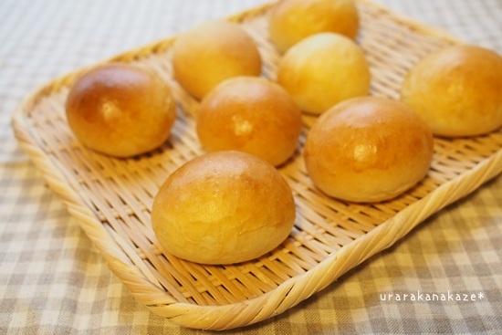 ふんわりプチ丸パン