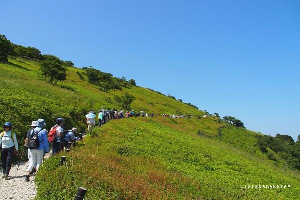 伊吹山 西登山道コース