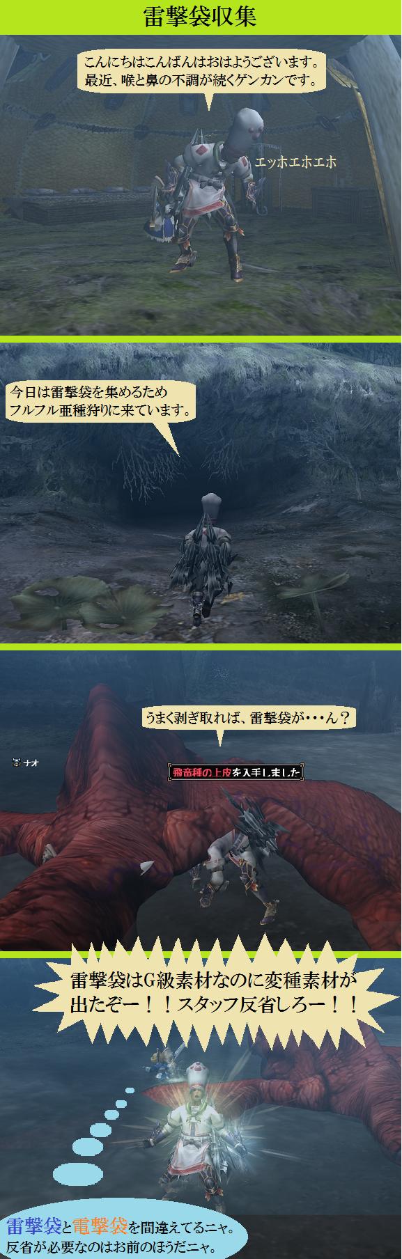 20160604 「雷撃袋収集」