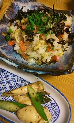 木の芽と筍寿司