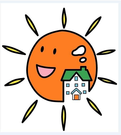 太陽マーク