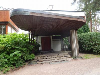 Villa Mairea正面玄関
