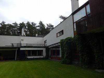Villa Mairea中庭