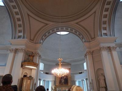 ヘルシンキ大聖堂中