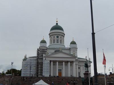 ヘルシンキ大聖堂外