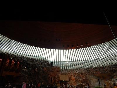 石の教会天井