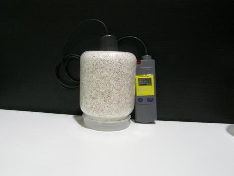 菌糸ボトル内酸素濃度