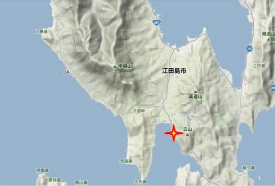 4)能美町・沖美町南部 胡子神社
