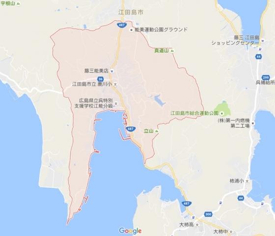 鹿川グーグル地図D