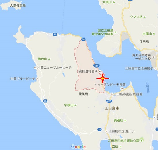 高田グーグル地図D・胡神社A