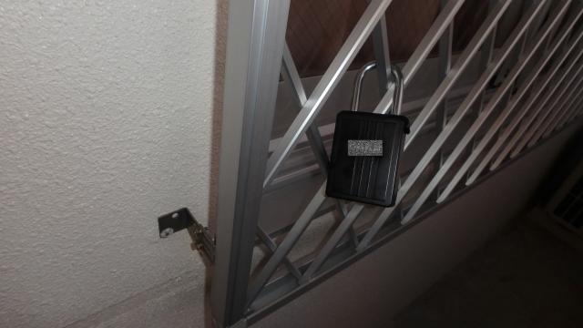 鍵付き鍵ボックス