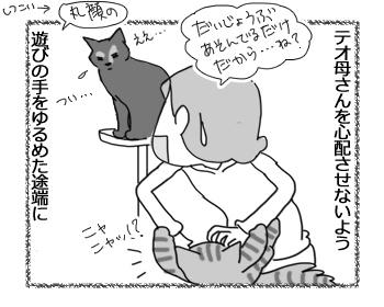 羊の国のビッグフット「テオさんという保護者猫」3