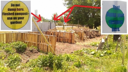 堆肥置き場1
