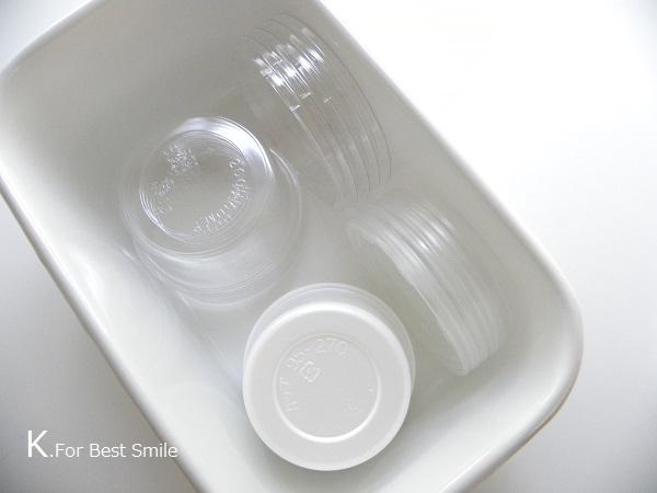 15>ダイソーのプラスチックカップ