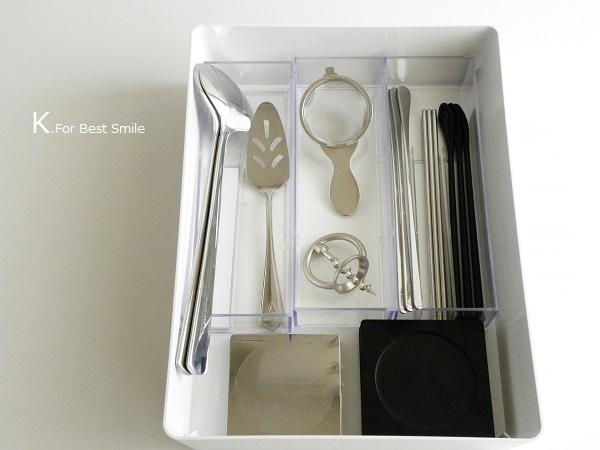 14>テーブル小物類の収納