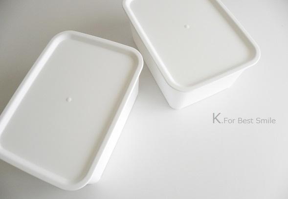 07>セリアの新商品【白いフタ付きボックス】