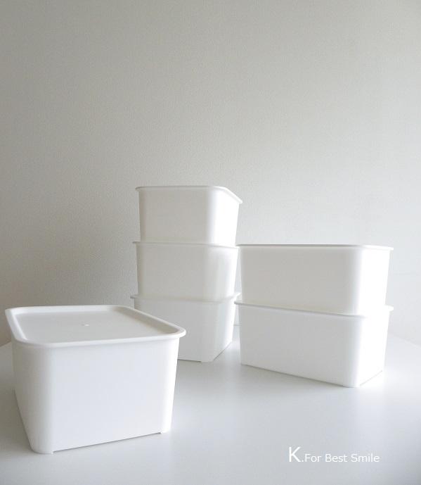 11>セリアの新商品【白いフタ付きボックス】