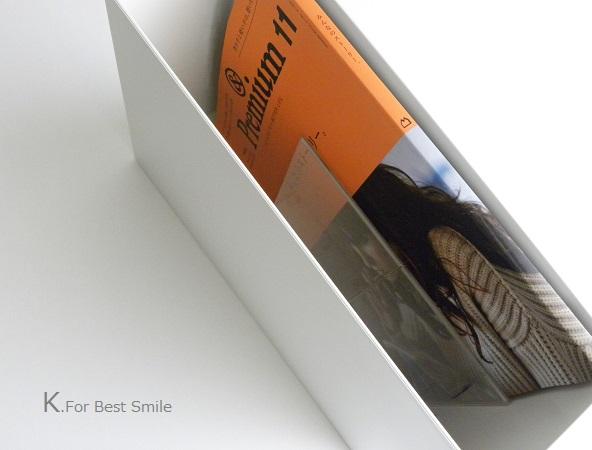 12>無印良品ファイルボックス&100円ショップ【雑誌の収納】