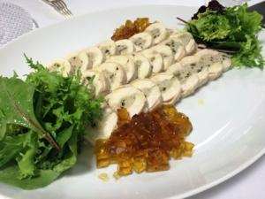 鶏の冷製ガランティーヌ(大皿)