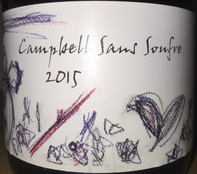 Campbell Sans Soufre Fujino Winery 2015