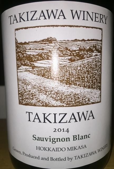 Takizawa Sauvignon Blanc 2014