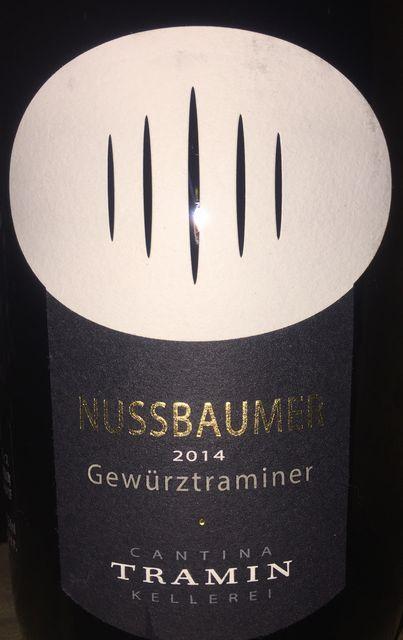 Nussbaumer Gewurztraminer Cantina Tramin 2014