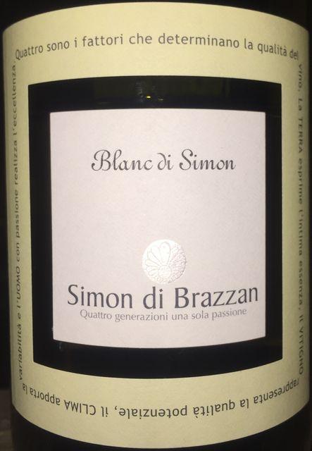 Blanc di Simon Simon di Brazzan