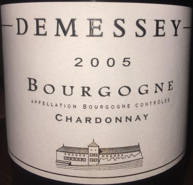 Bourgogne Chardonnay Demessey 2005
