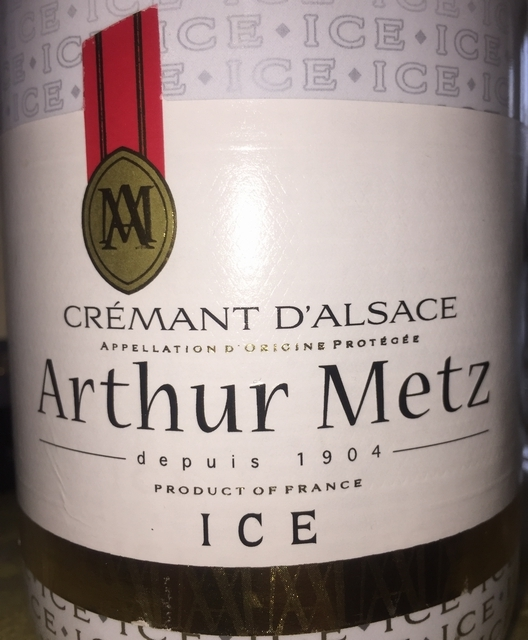 Cremant dAlsace ICE Arthur Mets