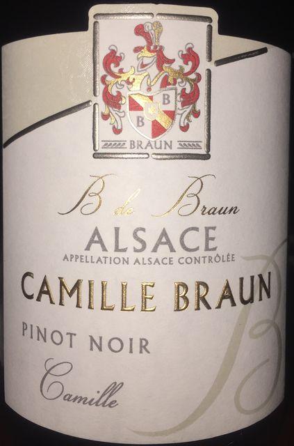 Pinot Noir Camille Braun 2012 part1