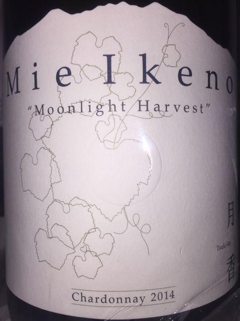 Mie Ikeno Tsukika Moonlight Harvest Chardonnay 2014
