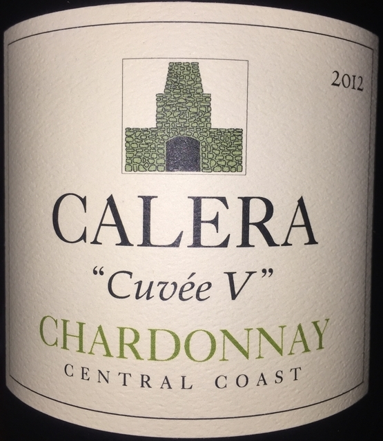 Calera Cuvee V Chardonnay Central Coast 2012 part1