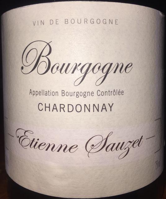 Bourgogne Chardonnay Etienne Sauzet 2011