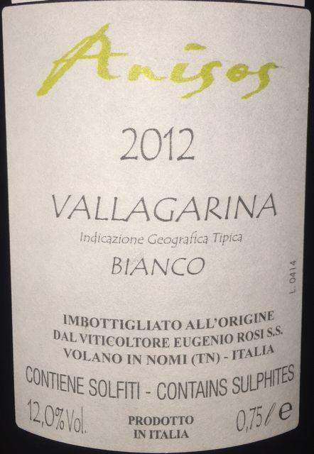 Anisos Vallagarina Bianco 2012 part2