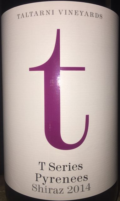 T series Taltarni Vineyards Pyrenees Shiraz 2014 part1