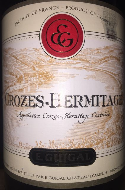 Crozes Hermitage E Guigal 2010