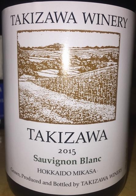 TAKIZAWA WINERY Sauvignon Blanc 2015 part1