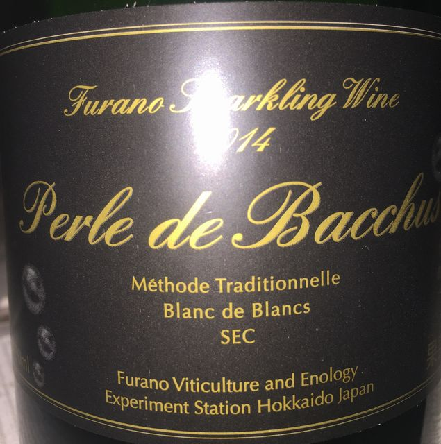 Perle de Bacchus Methode Traditionnelle Balnc de Blancs SEC 2014
