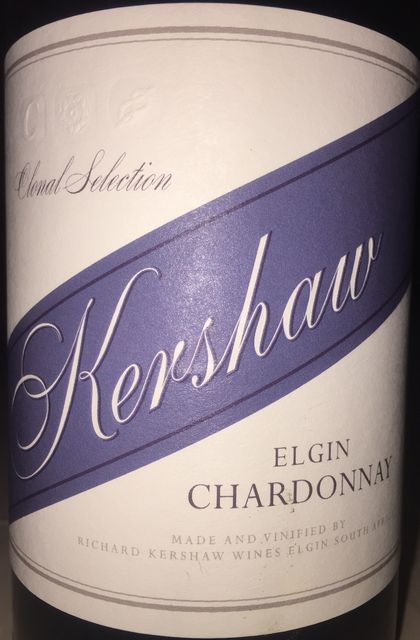 Elgin Chardonnay Clonal Selection Richard Kershaw 2014 part1