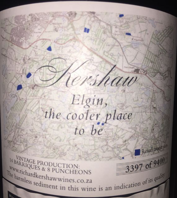 Elgin Chardonnay Clonal Selection Richard Kershaw 2014 part2