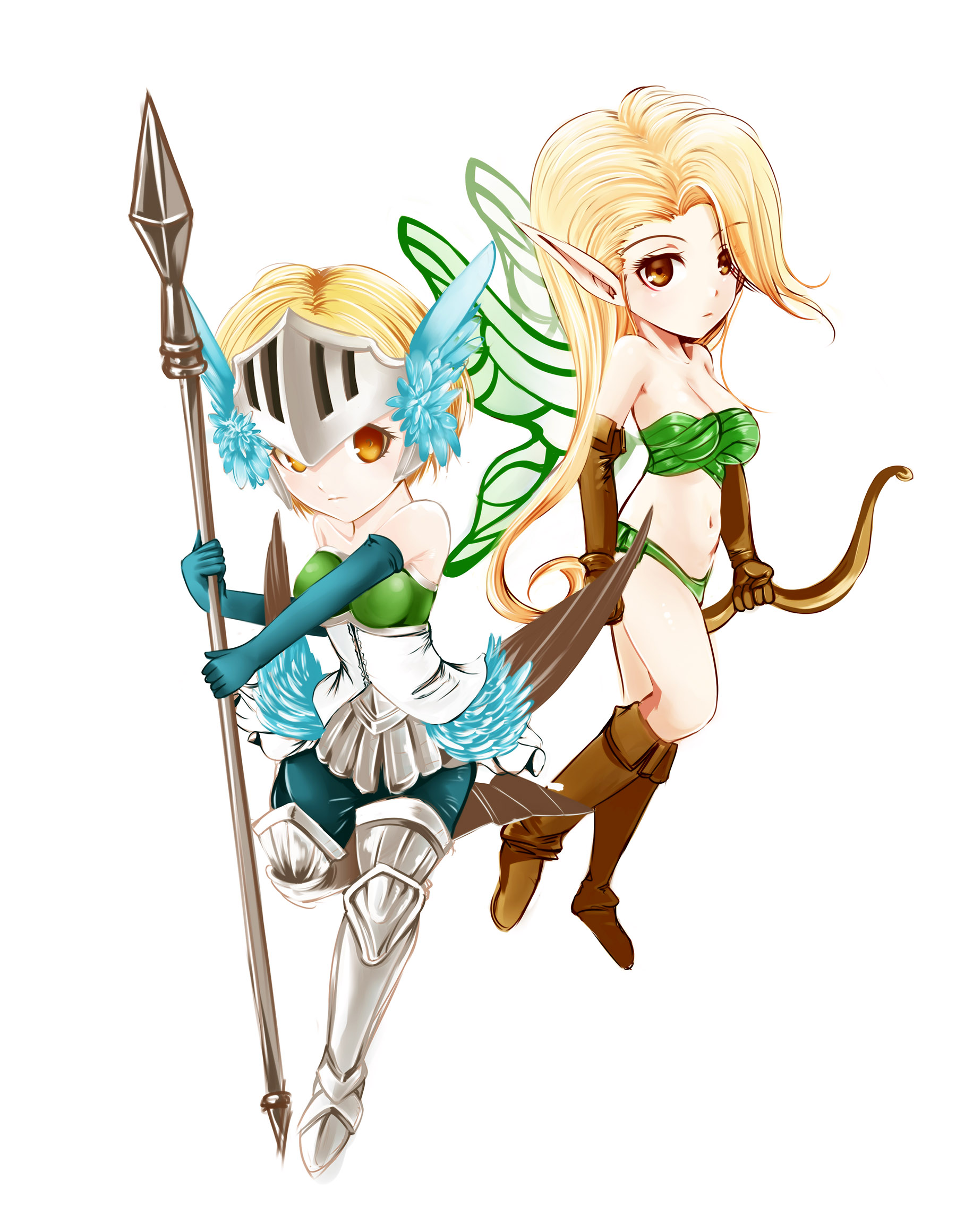 Valkyrie and Fairy - Odin Sphere