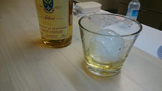 丸氷グラスイン