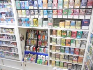 海外のたばこ