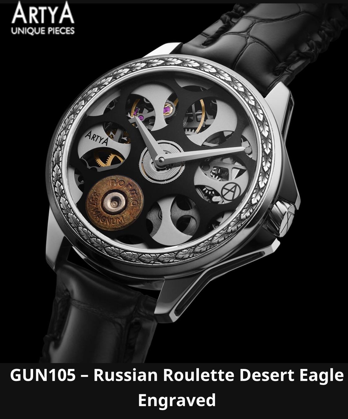 Gun105ロシアンルーレット1